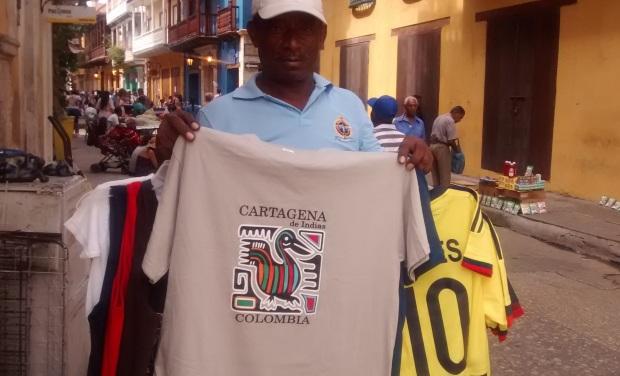 Vendedor en Cartagena de Indias