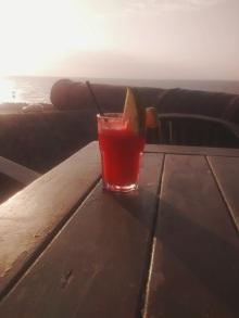 Trago en Café del Mar