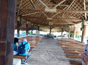 Capilla del Pueblo Maya en Xcaret